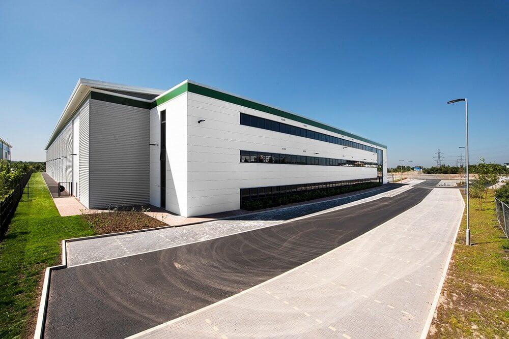 MCS Group completes Opus Land's Cannock warehouse