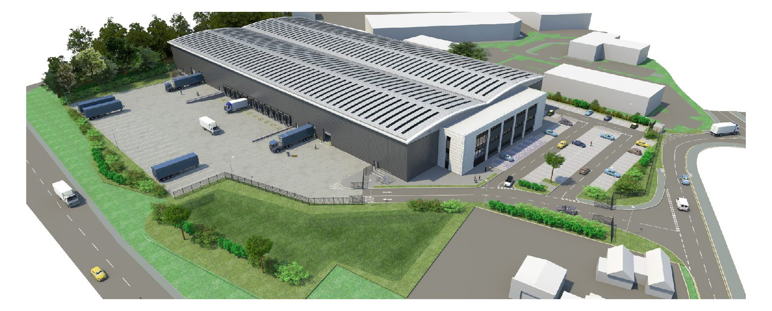 Aberdeen Standard and Opus Land awarded planning for c.135,000 sq ft industrial unit at Relay Park, Tamworth